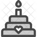 Cake Dessert Favorite Icon