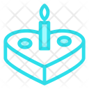 Cake Candle Cookie Icon