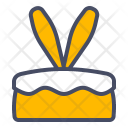Cake Easter Bunny Icon
