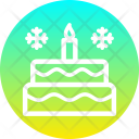 Cake Christmas New Icon