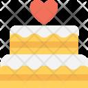 Cake Valentine Wedding Icon