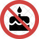 Birthday Cake Banned Icon