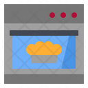 Bake Cooking Cookingoven Icon