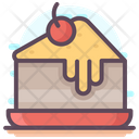 Cake Pastry Chocolate Cake Cake Slice Icon