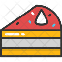 Cake Piece Sweet Icon