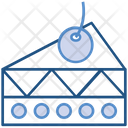 Bakery Cake Piece Icon