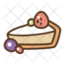 Cheese Cake Piece Icon