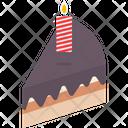 Dessert Cake Piece Sweet Icon