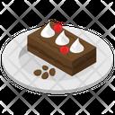 Cake Piece Cream Cake Dessert Icon