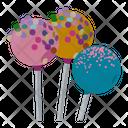 Cake Pops Lollipops Iced Pops Icon