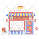 Cake Shop Sweets Shop Bakery Icon