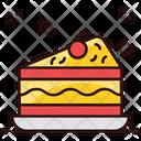 Cake Slice Chocolate Cake Cake Piece Icon
