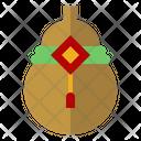 Calabash Gourd Asian Icon