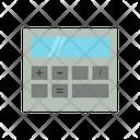 Calcolator Calculator Math Icon