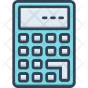 Calculate Calculation Mathematics Icon