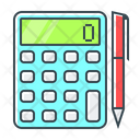 Calculate Calculator Count Up Icon