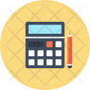 Calculater Calc Accounting Icon