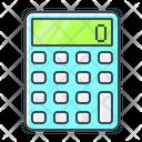Calculating Calculator Finance Icon
