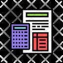 Calculating Mortgage Color Icon