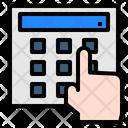 Cash Machine Hand Money Icon