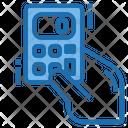 Calculating Calculator Tools Account Icon