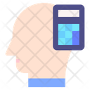 Calculating Mind Thought Icon