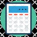 Calculator Accounting Financial Icon