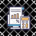 Tax Calculate Liability Icon