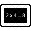 Calculation Maths Multiplication Icon