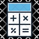 Calculation Budget Calculator Icon