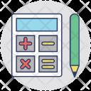 Calculator Calculation Estimation Icon