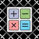 Calculation Accounting Mathematics Icon