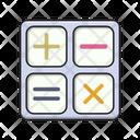 Calculation Calculator Accounting Icon