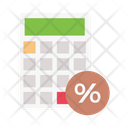 Calculation Stats Banking Icon
