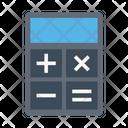 Calculation Mathematics Accounting Icon