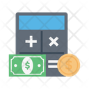 Calculation Payment Shopping Icon