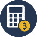 Calculation Bitcoin Bitcoin Calculator Icon