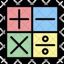Accounting Math Calculating Icon