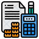 Calculator Calculation Money Icon