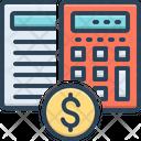 Calculation Estimates Editable Icon
