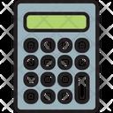Calculation Calculator Maths Icon