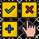 User Interface Botton Hand Icon
