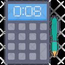 Calculation Calculator Mathematics Icon