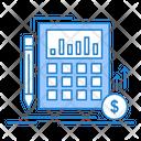 Calculation Data Financial Icon