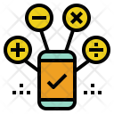 Calculation Mobile Accounting Icon