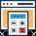 Calculation Math Webpage Icon