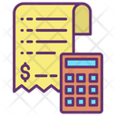 Calculation Bill Icon