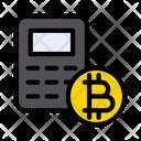 Calculation Bitcoin Banking Icon