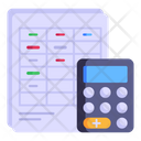 Calculation Sheet Icon