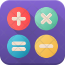 Calculations Calculator Accounting Icon